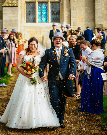 Cambridgeshire wedding at Maxey Church